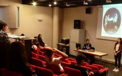 Concours d'éloquence au lycée Professionnel Léonard de Vinci